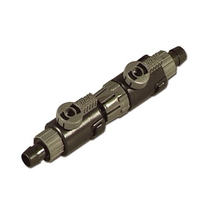 Eheim Classic 350 2215 Double 12mm Tap Connector 4004412