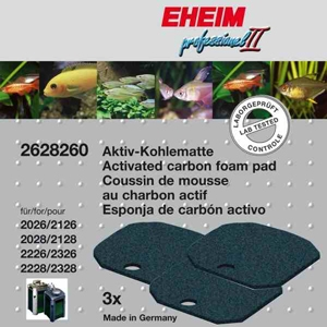 Eheim (2628260) Aquarium Carbon Filter Pads 2227 2229 2327 2329