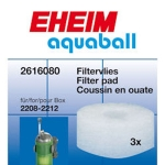 Eheim Aquaball 180 Internal Filter Fine Pads 2616080