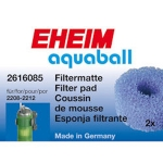 Eheim Aquaball 60 Filter Coarse Pads 2616085